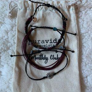 Pura Vida bracelets - Monthly pack